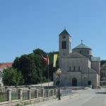 The church in Tomislavgrad