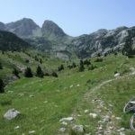 The section next to Jezerce on Prenj mountain.