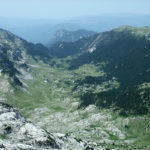 The view on Tisovica valley taken from Zelena Glava peak.