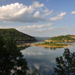 The lake Krušičko Jezero