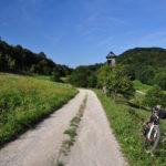 Unpaved road on Bizeljska Gorje hills