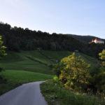 The section near Bizeljski Grad castle.