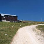 The hut near Devečani region on Vlašić mountain.