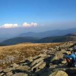 The sightseeing point at Vran Kamen peak
