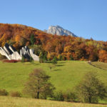 The monument of well known Battle of the Sutjeska in Tjentište