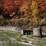 The fountain and resting place near Sava Kovačević monument
