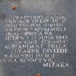 Sava Kovačević monument