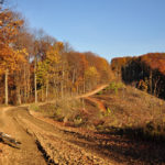 The carriageway section on Zrinska Gora mountain