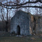 The ruins of the church Sv Magdalena near Filozići village
