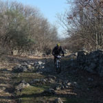 The rocky section from Beli to Porozina