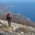 The descent section from Gorice to Beli