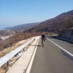 The paved road section from Porozina to Dragozetići