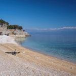 The beach near Beli