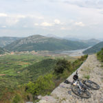 The rocky descent section to Ston