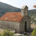 Sv Ilija chapel near Korita village on The Island of Mljet