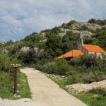Sv Marija chapel next to Korita village on The Island of Mljet