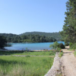 The Small Lake on The Island of Mljet