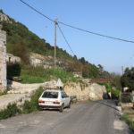 The labeled junction in Babino Polje village