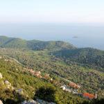 The view to Babino Polje