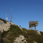 The radio relay station at Veliki Grad peak
