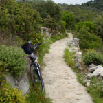 The singletrack section from Babino Polje to Ulysses Cave (Odisejeva spilja)