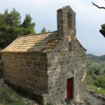 Sv Andrija chapel on The Island of Mljet