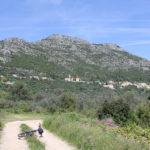 The carriageway section on Babino Polje field