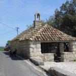 The chapel in Babino Polje village