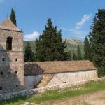 Sv Vlaho chapel on The Island of Mljet