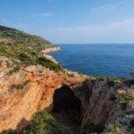 Ulysses Cave (Odisejeva spilja) on The Island of Mljet
