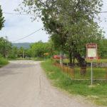 The starting point in Pazarište village