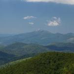 The view to Gola Plješivica peak