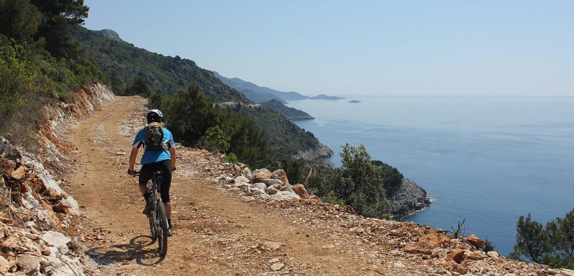 Slikovni rezultat za bicycle on mljet