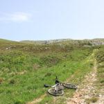 The steep ascent leads to the ridge of Velika Golija mountain