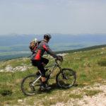 The final section to the ridge of Velika Golija mountain