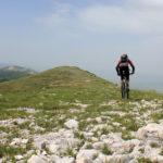 The ride at the ridge of Velika Golija mountain