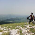 At Veliki Vrh peak on Golija mountain