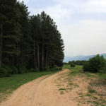 The descent section to Strupnić village