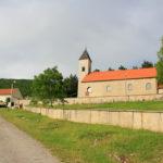 The church in Ljubunčić village