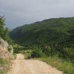 The descent to Dobrinjska Draga