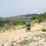 The unpaved road section to Gornji Doci on Čabulja mountain