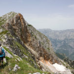 Hiking at the ridge of Čabulja mountain