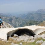 The view from the ridge of Čabulja mountain