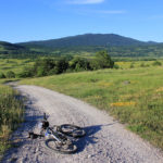 The unpaved section near Stankovići village