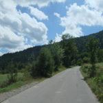 The paved section from Krasno village to Zavižan hut
