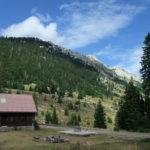 The hut in Lomska Duliba