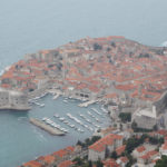 Dubrovnik town, the view from Srđ