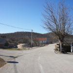 The junction in Golubić village