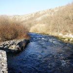 Krupa river in Krupa village