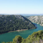 Krka Canyon in National Park Krka